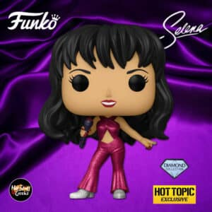 Funko Pop! Rocks! Selena With Burgundy Outfit Diamond Collection Funko Pop! Vinyl Figure - Hot Topic Exclusive