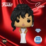 Funko Pop! Rocks! Selena With Grammy White Dress Diamond Glitter Collection Funko Pop! Vinyl Figure – Funko Shop Exclusive