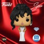 Funko Pop! Rocks! Selena With Grammy White Dress Diamond Glitter Collection Funko Pop! Vinyl Figure – Funko Shop Exclusive