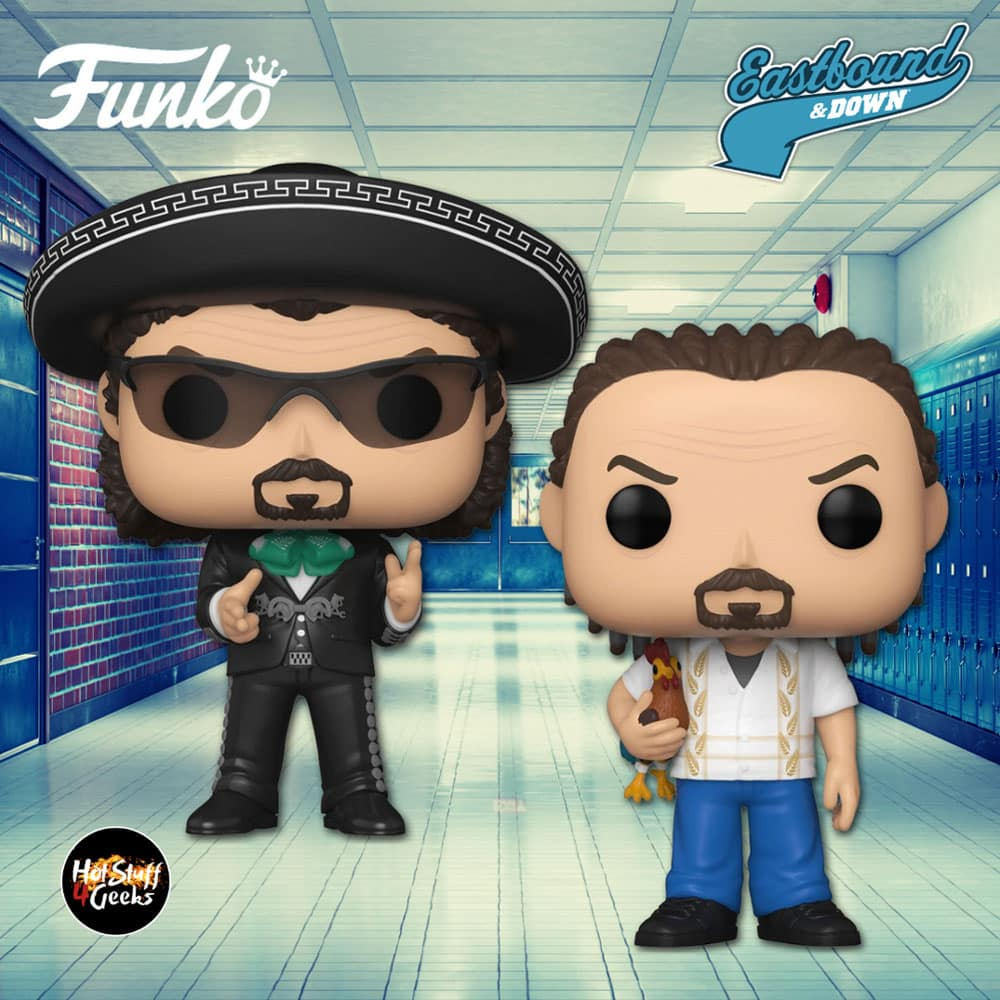 Funko Pop! Television: Eastbound & Down - Kenny in Cornrows and Kenny in Mariachi Outfit Funko Pop! Vinyl Figures