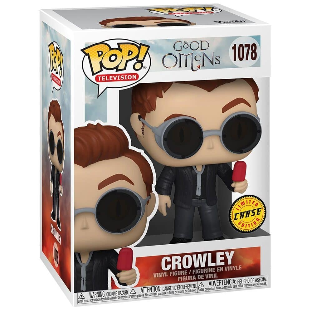 Funko Pop! Television: Good Omens - Crowley with Apple With Chase Variant Funko Pop! Vinyl Figure