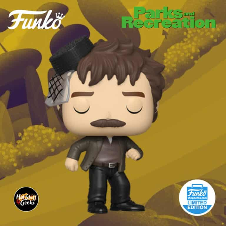 Funko Pop! Television: Parks and Recreation - Snake Juice Ron Swanson Funko Pop! Vinyl Figure – Funko Shop Exclusive