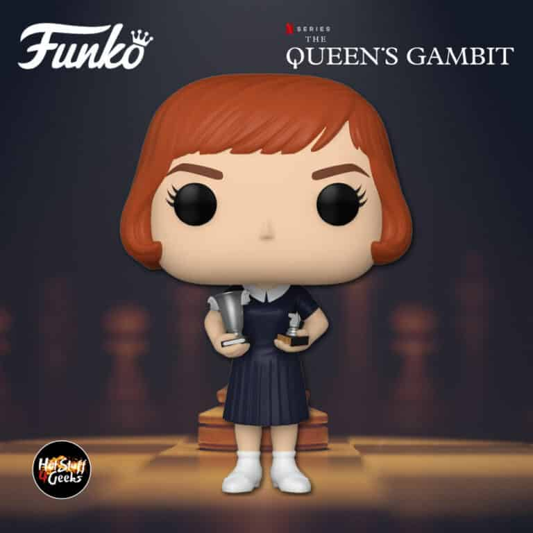 Funko Pop! Television: The Queen's Gambit - Beth Harmon with Trophies Funko Pop! Vinyl Figure