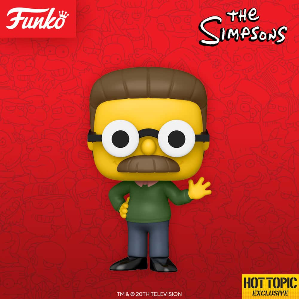 Funko Pop! Television The Simpsons - Ned Flanders