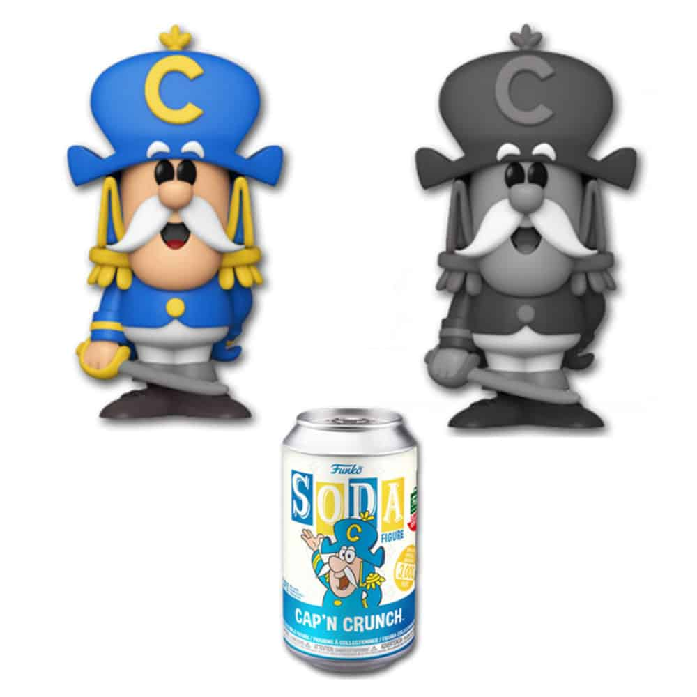 Funko Vinyl Soda: Quaker Oats – Cap'n Crunch Vinyl Soda Figure With Chase Variant - Funko Shop Exclusive
