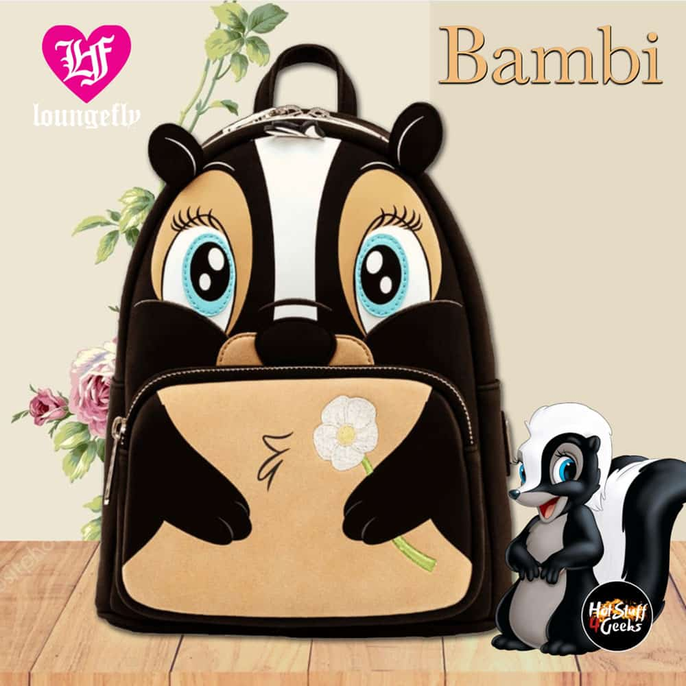 Loungefly Bambi Flower Cosplay Mini-Backpack