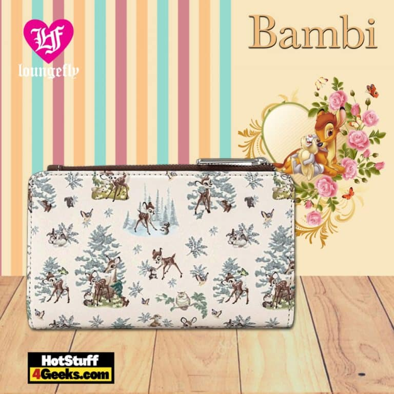 Loungefly Bambi Scenes Flap Wallet