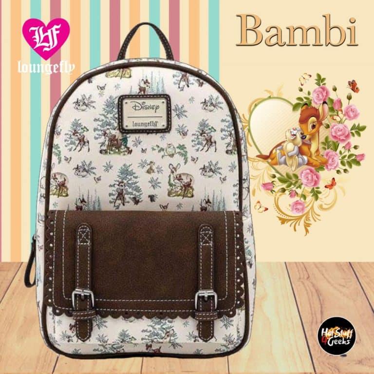 Loungefly Bambi Scenes Mini-Backpack