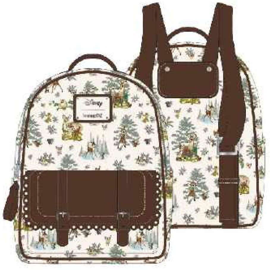 Loungefly Bambi Scenes Mini-Backpack