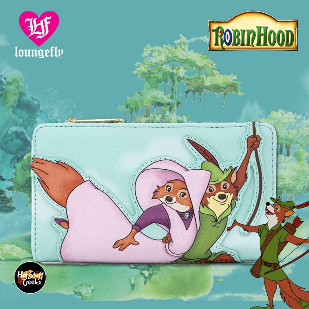 Loungefly Disney Robin Hood Rescue Scene Flap Walle
