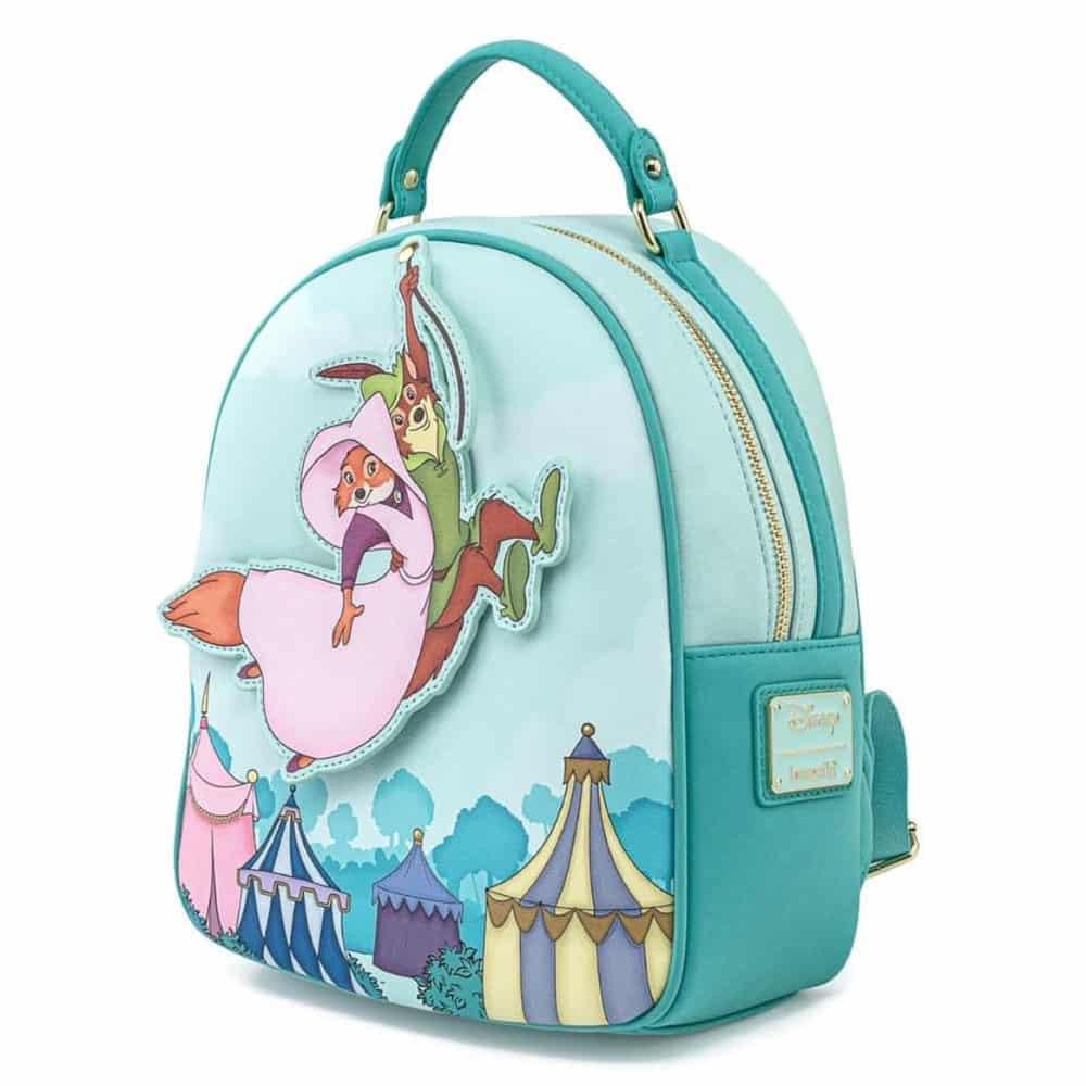 Loungefly Disney Robin Hood Rescue Scene Mini-Backpack