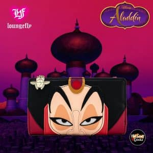 Loungefly Disney Villains Jafar Flap Wallet