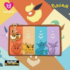 Loungefly Pokemon Eevee Evolutions Flap Wallet