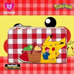 Loungefly Pokemon Pikachu Picnic Basket Flap Wallet