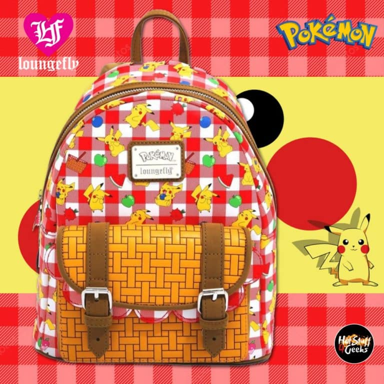 Loungefly Pokemon Pikachu Picnic Basket Mini-Backpack