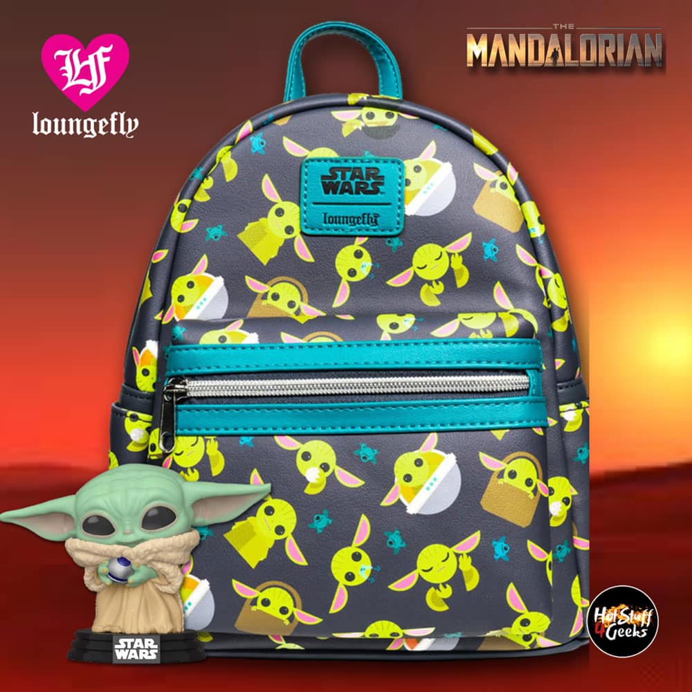 Loungefly Star Wars The Mandalorian The Child Mini-Backpack - Entertainment Earth Exclusive