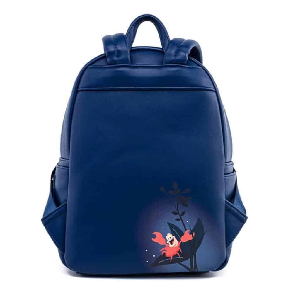 Loungefly The Little Mermaid Kiss the Girl Scene Backpack