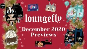 NEW Loungefly December 2020 Preview! Arrive January 2021
