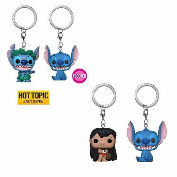 Disney Lilo & Stitch Pop! Key Chain