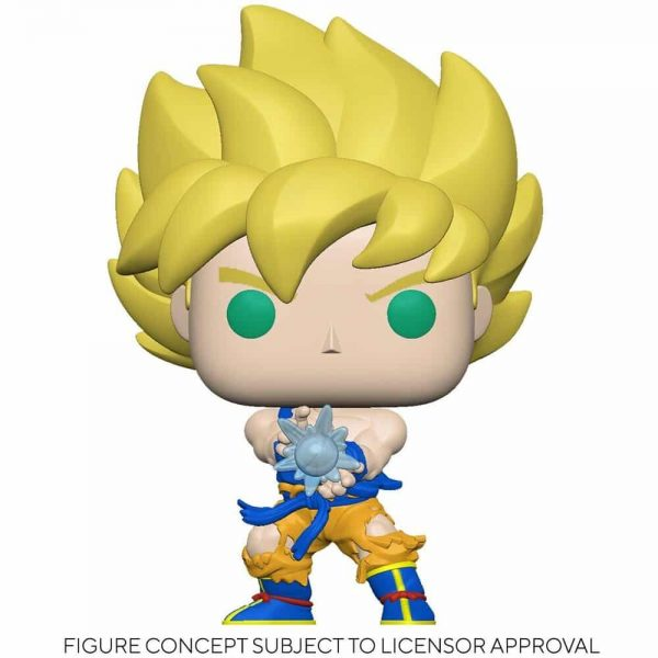 Dragon Ball Z - Super Saiyan Goku with Kamehameha Wave Funko Pop! Vinyl Figure