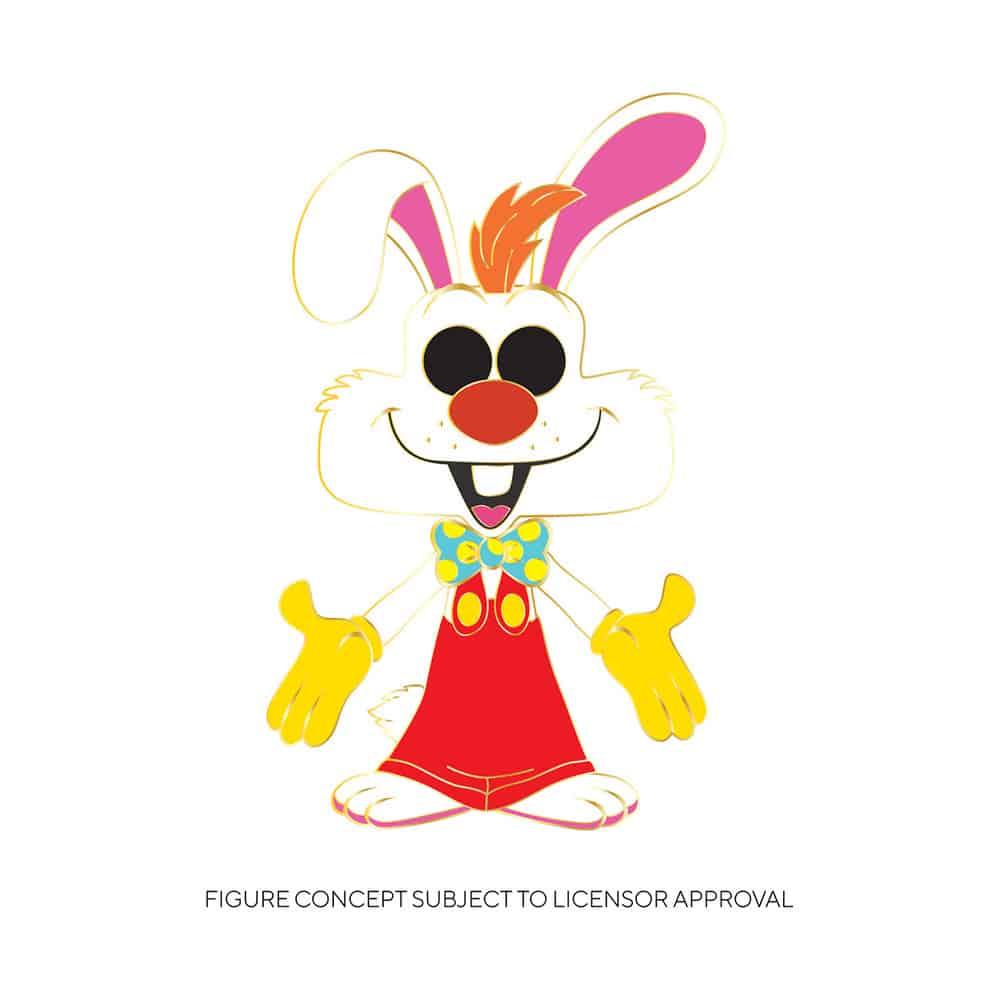 Funko Disney Who Framed Roger Rabbit - Roger Rabbit Large Enamel Pop! Pin
