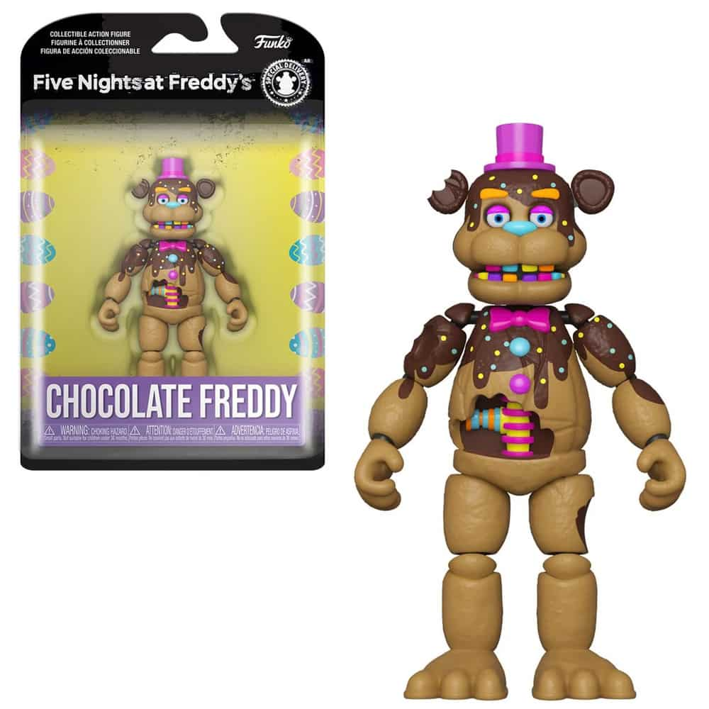 Funko Five Nights at Freddy's Chocolate Freddy Action Figure
