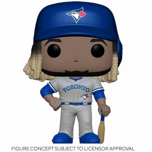 Funko MLB Major League Baseball - Blue Jays Vladimir Guerrero Jr. (Road Uniform) Funko Pop! Vinyl Figure