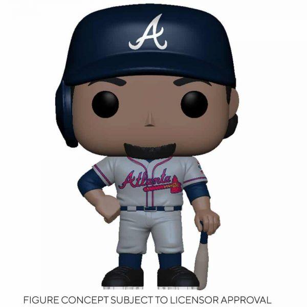 Funko MLB Major League Baseball - Braves Ozzie Albies (Road Uniform) Funko Pop! Vinyl Figure