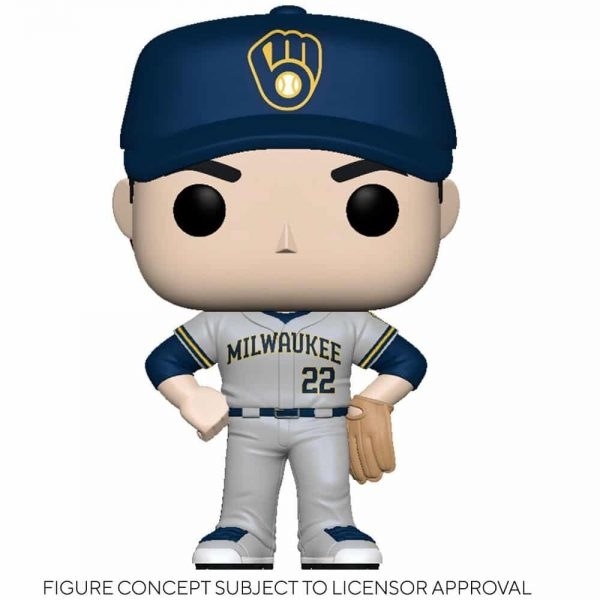 Funko MLB Major League Baseball - Brewers Christian Yelich (Road Uniform) Funko Pop! Vinyl Figure