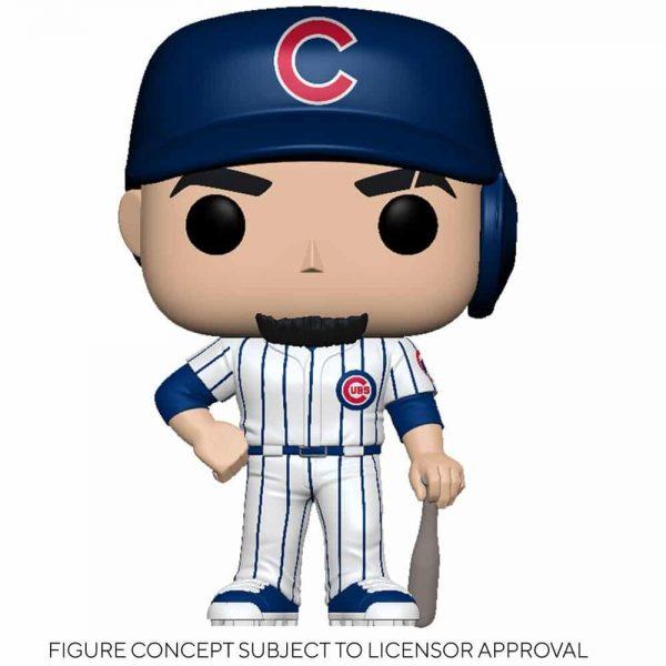 Funko MLB Major League Baseball - Cubs Javier Baez (Home Uniform) Funko Pop! Vinyl Figure