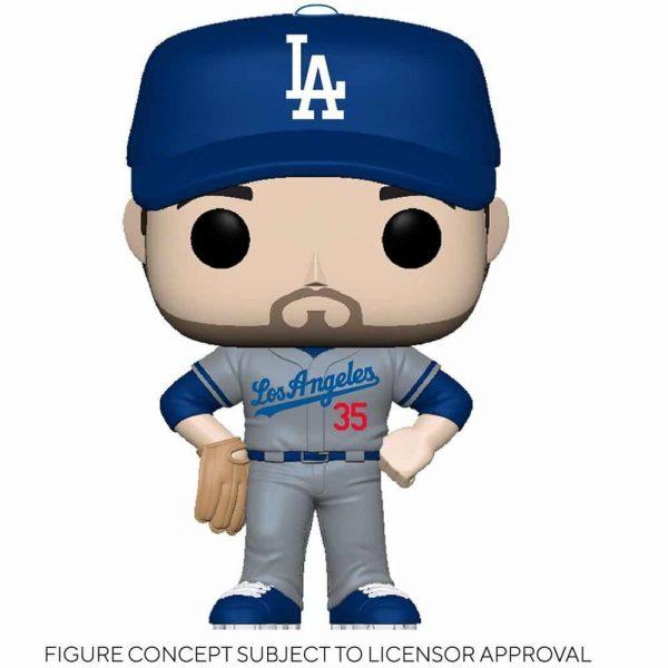 Funko MLB Major League Baseball - Dodgers Cody Bellinger (Road Uniform) Funko Pop! Vinyl Figure