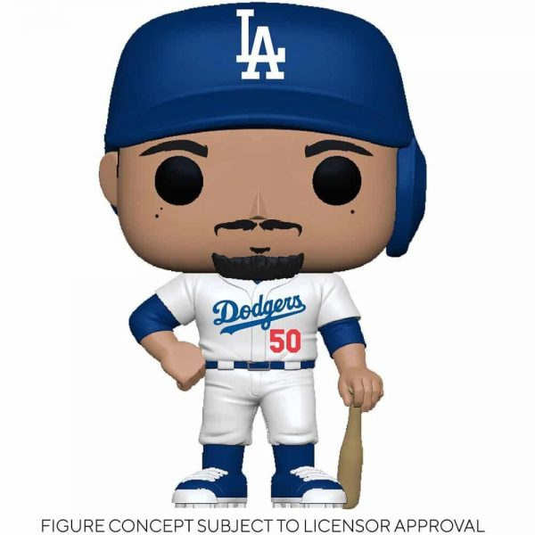 Funko MLB Major League Baseball - Dodgers Mookie Betts (Home Uniform) Funko Pop! Vinyl Figure
