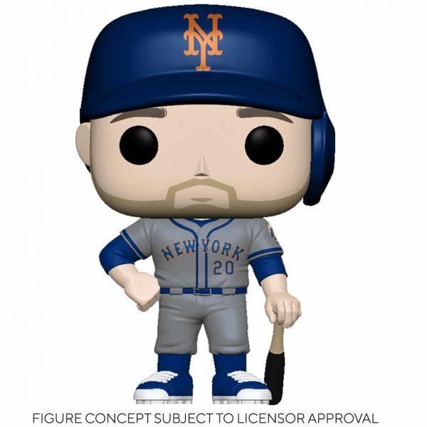 Funko MLB Major League Baseball - Mets Pete Alonso (Road Uniform) Funko Pop! Vinyl Figure