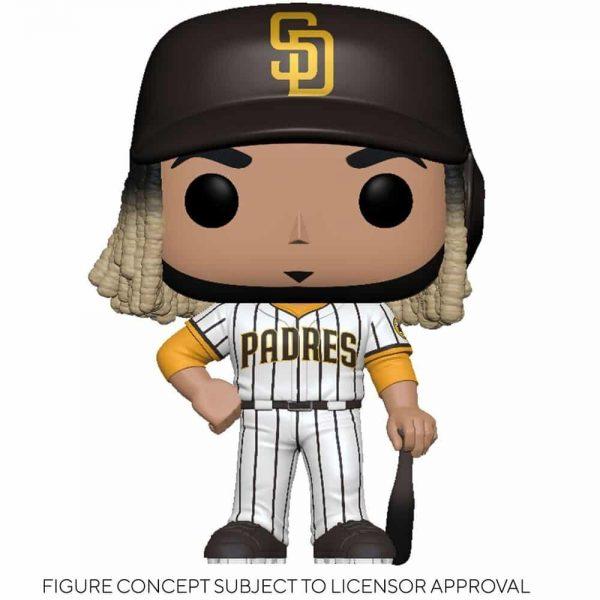 Funko MLB Major League Baseball - Padres Fernando Tatís Jr. (Home Uniform) Funko Pop! Vinyl Figure