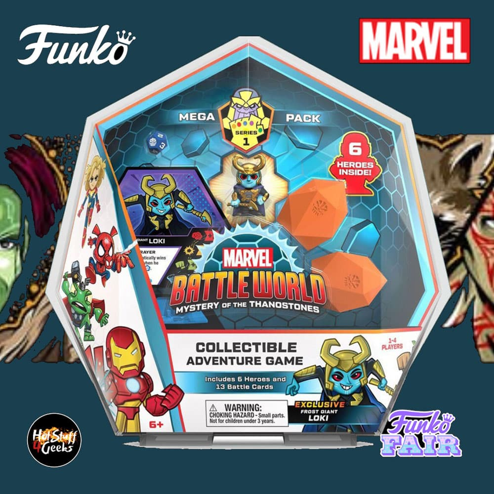 Funko Marvel Battleworld Loki (Frost Giant) Mega Pack