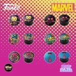 Funko Marvel Black Light - Pop Sockets - Funko Fair 2021