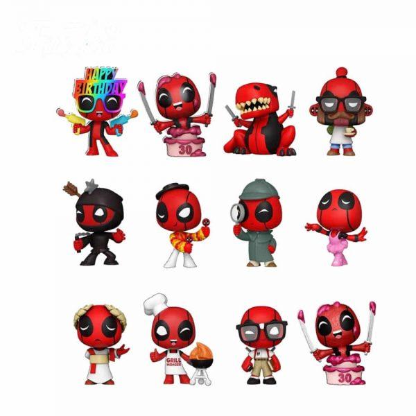 Funko Marvel Deadpool 30th Mystery Minis Mini-Figures