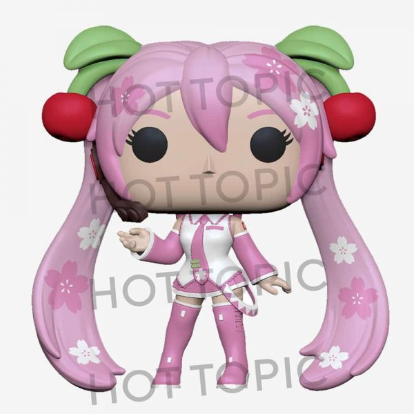 Funko POP! Animation: Vocaloid - Hatsune Miku (Cherry Blosson) Funko Pop! Vinyl Figure - Hot Topic Exclusi