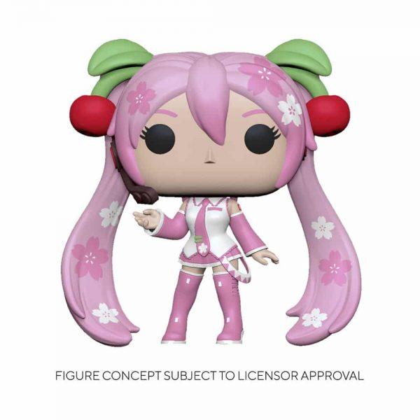 Funko POP! Animation: Vocaloid - Hatsune Miku (Cherry Blosson) Funko Pop! Vinyl Figure - Hot Topic Exclusive