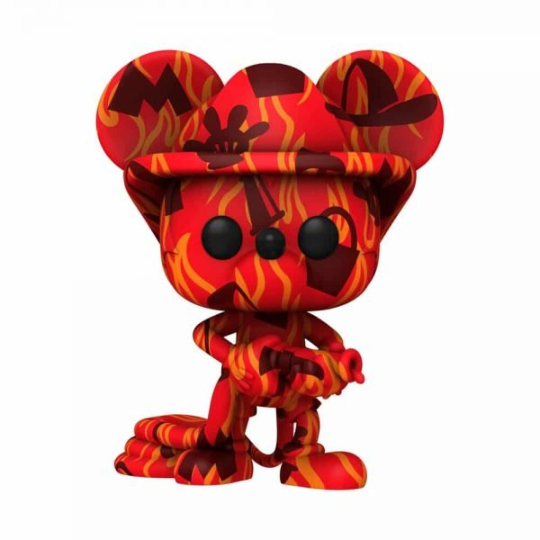 Funko POP! Artist Series Disney Mickey Mouse - Firefighter Mickey Funko Pop! Vinyl Figure - Walmart Exclusive