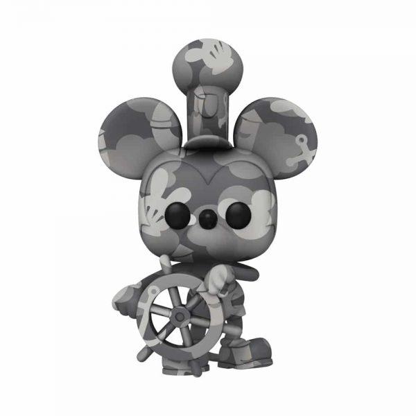 Funko POP! Artist Series Disney Mickey Mouse - Steamboat Willie Funko Pop! Vinyl Figure - Walmart Exclusive