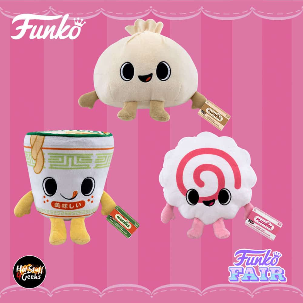 Funko Plush Gamer Food - Funko Fair 202