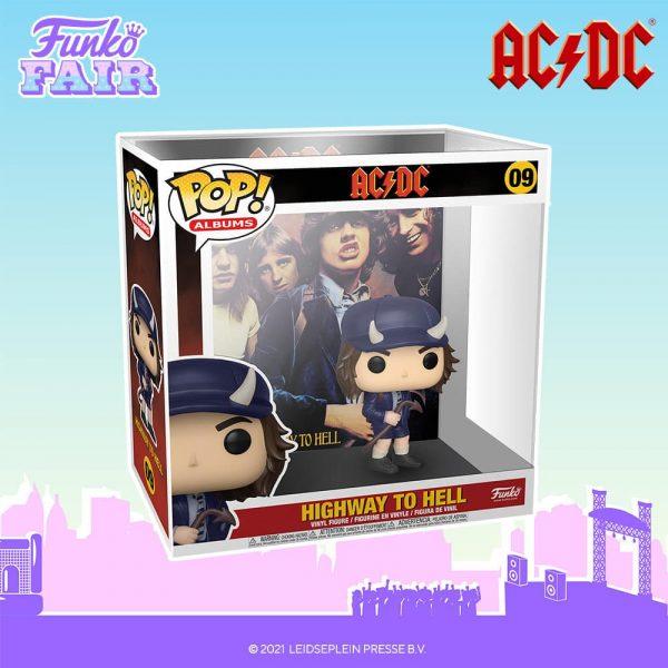 Funko Pop! Albums ACDC Highway to Hell Funko Pop! Album Vinyl Figure with Case - Funko Fair 2021