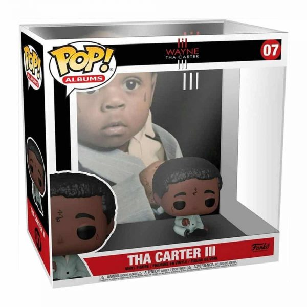 Funko Pop! Albums Lil Wayne – Tha Carter III Funko Pop! Album Vinyl Figure with Case