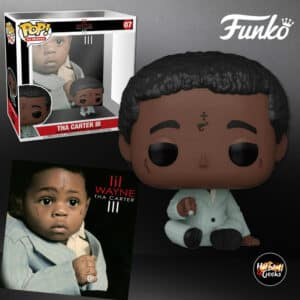 Funko Pop! Albums Lil Wayne – Tha Carter III Funko Pop! Album Vinyl Figure with Case