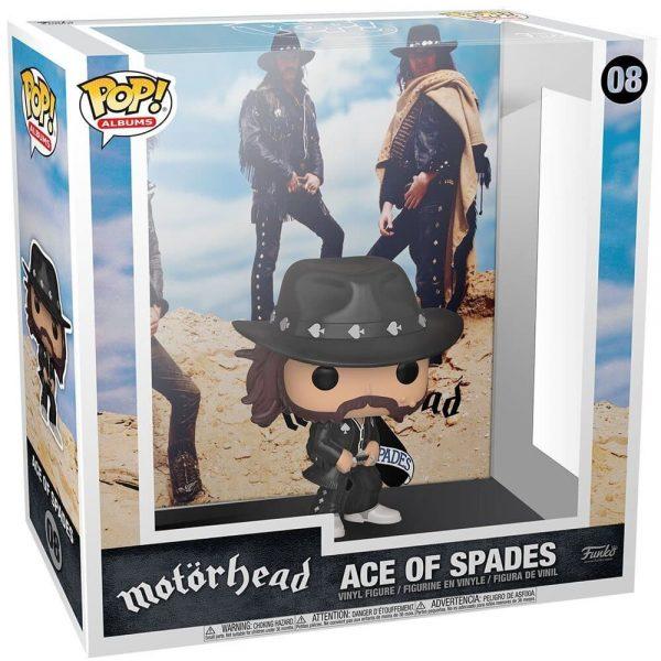Funko Pop! Albums Motorhead– Ace of Spades Funko Pop! Album Vinyl Figure with Case