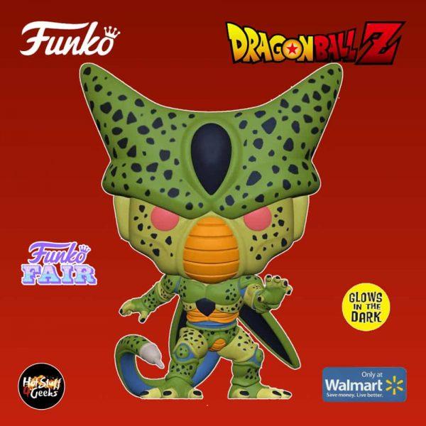 Funko Pop! Animation: Dragon Ball Z - Cell (First Form) Glow-In-The-Dark (GITD) Funko Pop! Vinyl Figure - Walmart Exclusive