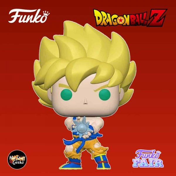 Funko Pop! Animation Dragon Ball Z - Super Saiyan Goku with Kamehameha Wave Funko Pop! Vinyl Figure
