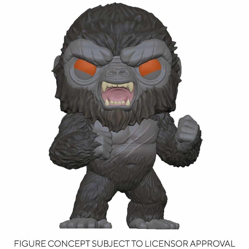 Funko Pop! Animation Godzilla vs. Kong - Battle-Ready Kong Funko Pop! Vinyl Figure