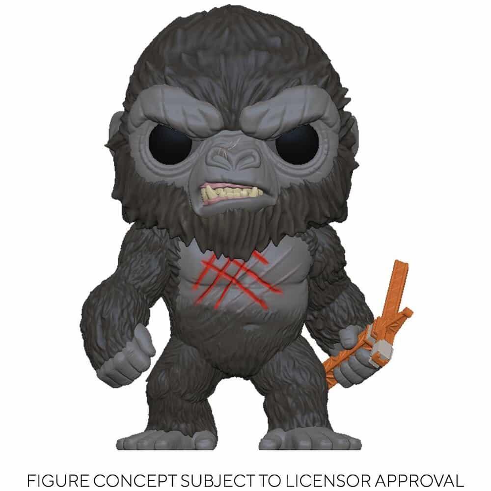 Funko Pop! Animation Godzilla vs. Kong - Battle Scarred Kong Funko Pop! Vinyl Figure